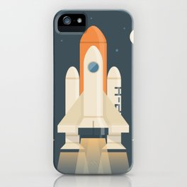 Spaceship Launch iPhone Case