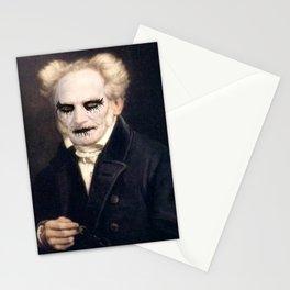 Black Metal Schopenhauer Stationery Cards