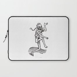 Dancing skeleton Laptop Sleeve