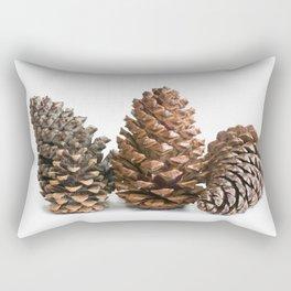 Three pinecones Rectangular Pillow