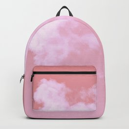 Floating candy with beige pink Backpack