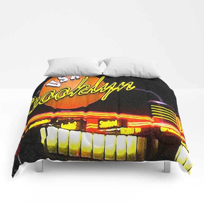 Brooklyn Diner Comforters