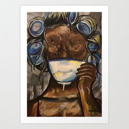 Tea, Darling? Art Print