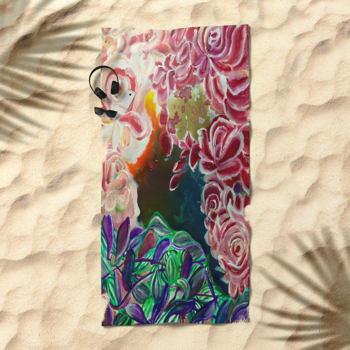 Ode To Creation Beach Towel