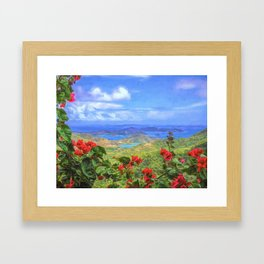 St. John Vista Framed Art Print