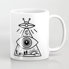 They Watch Us Coffee Mug