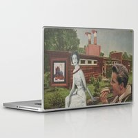 hot dog Laptop & iPad Skins featuring Hot Dog by Jon Duci