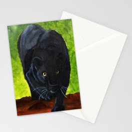 Black Panter Collection Stationery Cards