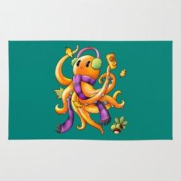 Autumn Octopus Rug