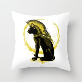 The King of the Light Throw Pillow