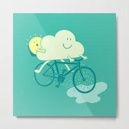 Weather Cycles Metal Print
