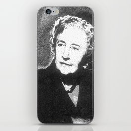 Agatha Christie iPhone Skin