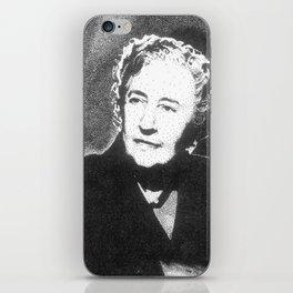 Agatha Christie iPhone Skin
