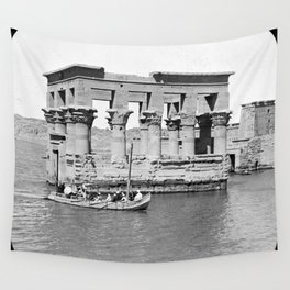Temple of Philae, Egypt., 1908 Wall Tapestry