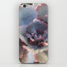 Crystallized Purple Succulent iPhone Skin