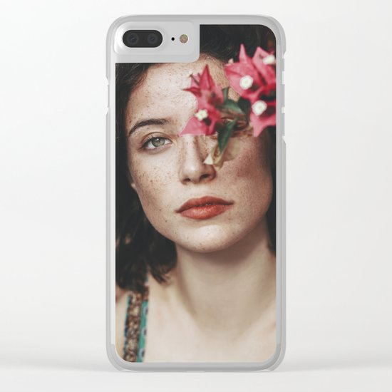 Freckles Clear iPhone Case