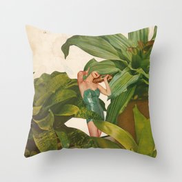 FOLIAGE Throw Pillow