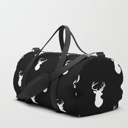 stag pattern Duffle Bag
