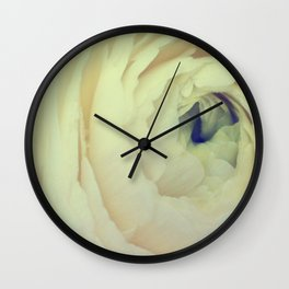 Ranunculus Wall Clock