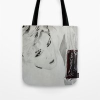kpop Tote Bags featuring Blood Bag by Ahri Tao