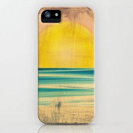 Ocean Sunset 1.0 Vintage iPhone Case
