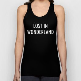 """NYC Wildflower show series - """"if you don't know where you're going any road will get you there"""" Unisex Tank Top"""