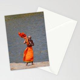 The Tungabhadra River, Hampi, India. Stationery Cards