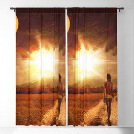 Landscape Blackout Curtain