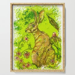 The Great Hare Serving Tray