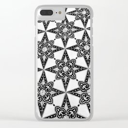 Dramatic, Elegant Tiling, at the Bellevue Syrene Hotel, Sorrento, Italy Clear iPhone Case
