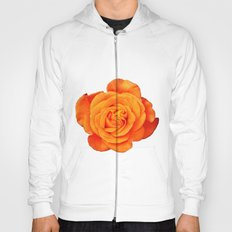 Romantic Rose Orange Hoody