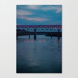 Edmonton High Level Bridge Canvas Print