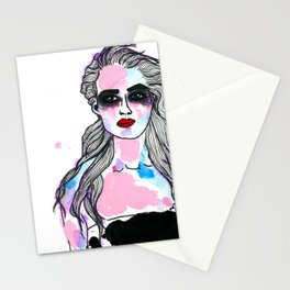 NEUN Mädchen.  Stationery Cards
