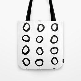 Scandinavian Licorice Tote Bag