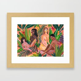 We are Eve Framed Art Print