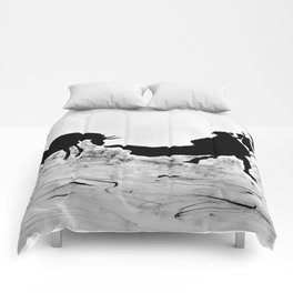 Bulls and bullfighters of Picasso III Comforters