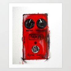 MXR Dyna Comp Art Print