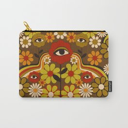 Flower Third Eye Carry-All Pouch