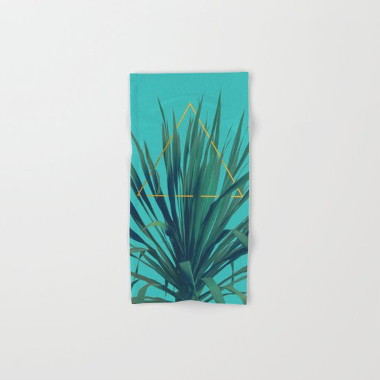 Geometric Fountain Hand & Bath Towel