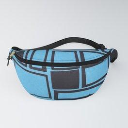 Windows & Frames - Blue Fanny Pack