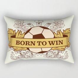 Born to Win Rectangular Pillow