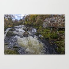 Little House On The River Canvas Print