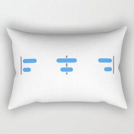 Sketch Align Tool Rectangular Pillow