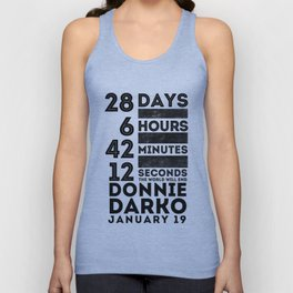 Donnie Darko 28:6:42:12 Unisex Tank Top