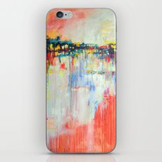 on the water,  expressive landscape, abstract iPhone & iPod Skin