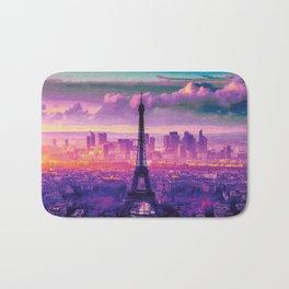 Beautiful Paris Bath Mat