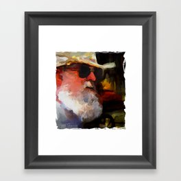 old timer Framed Art Print