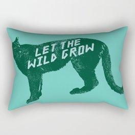 Let The Wild Grow Rectangular Pillow