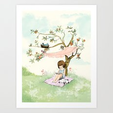 My summer Tree Art Print