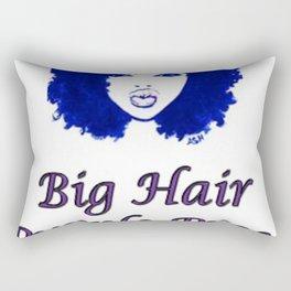 Big Hair, Purple Prose, All Class Rectangular Pillow